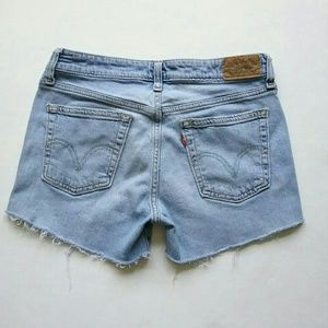 Levi's Shorts - Levi's 518 Distressed Cut Off Jean Shorts